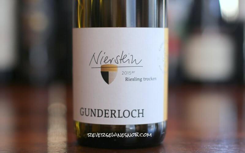 Gunderloch Nierstein Riesling Trocken – Resplendent