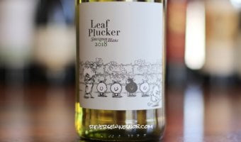 Leaf Plucker Sauvignon Blanc - Impressive