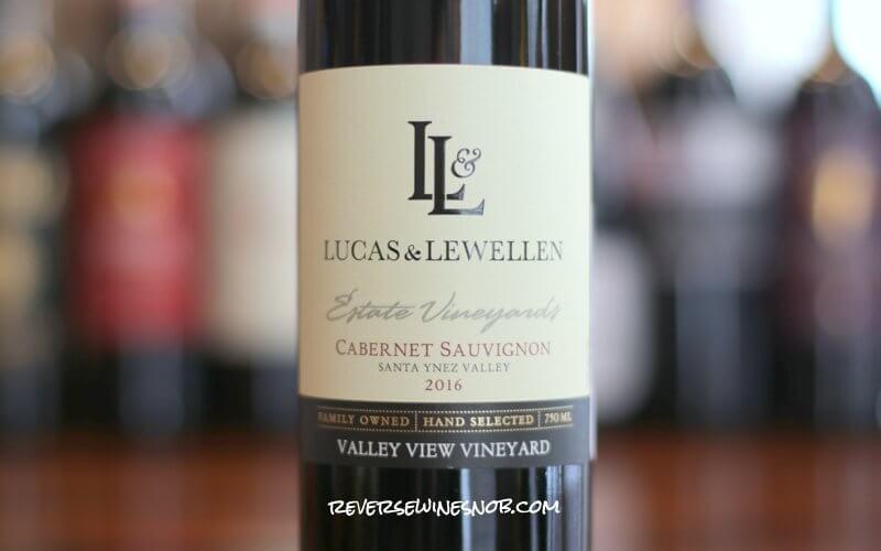 Lucas & Lewellen Valley View Vineyard Cabernet Sauvignon - Cabalicious!