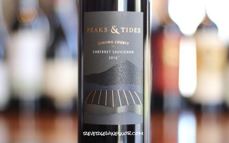 Peaks & Tides Cabernet Sauvignon - Classic Cab
