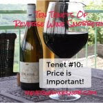 Tenet #10 - Price Is Important!