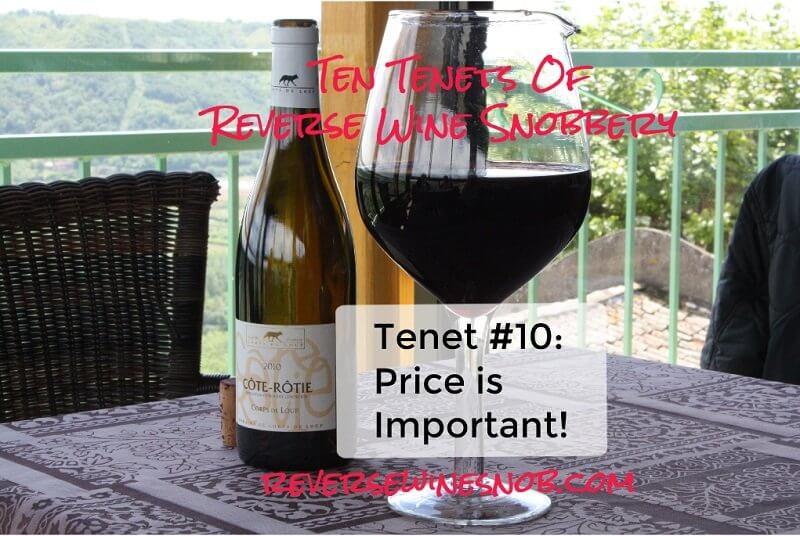 Tenet #10 - Price Is Important!