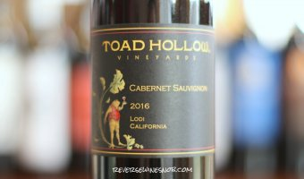 Toad Hollow Cabernet Sauvignon - Toadally Tasty Cab