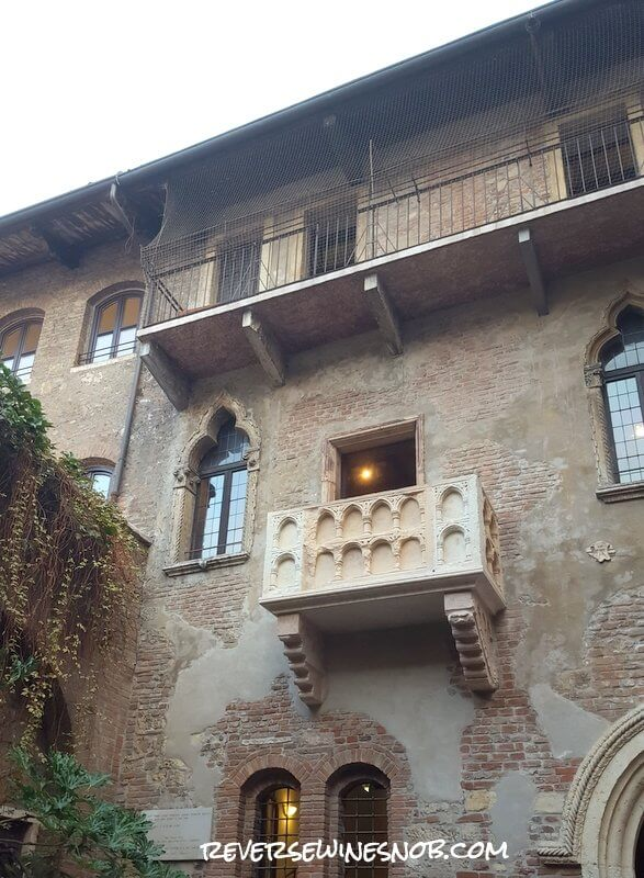 Romeo & Juliet Balcony in Verona