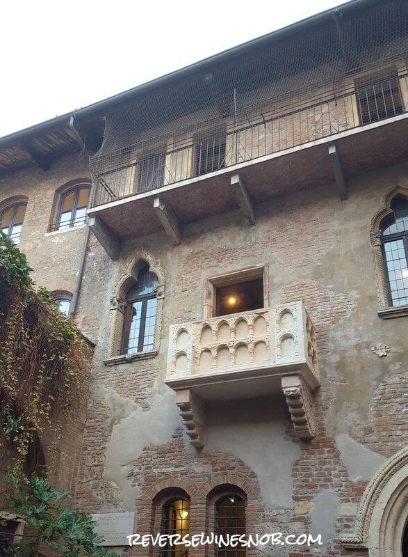 Romeo & Juliet Balcony in Verona