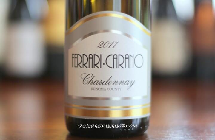 Ferrari-Carano Chardonnay – Tastefully Done