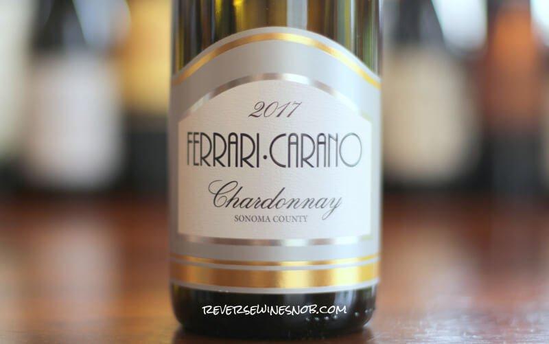 Ferrari Carano Chardonnay Tastefully Done Reverse Wine Snob