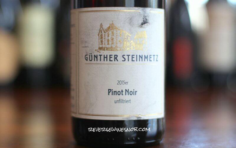 Weingut Gunther Steinmetz Pinot Noir - Delicately Delicious