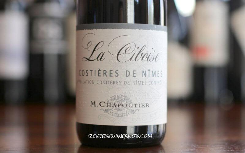 M. Chapoutier La Ciboise Costieres de Nimes Rouge - Unknown Rhone