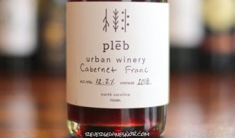 Pleb Urban Winery Cabernet Franc - Refreshingly Delicious