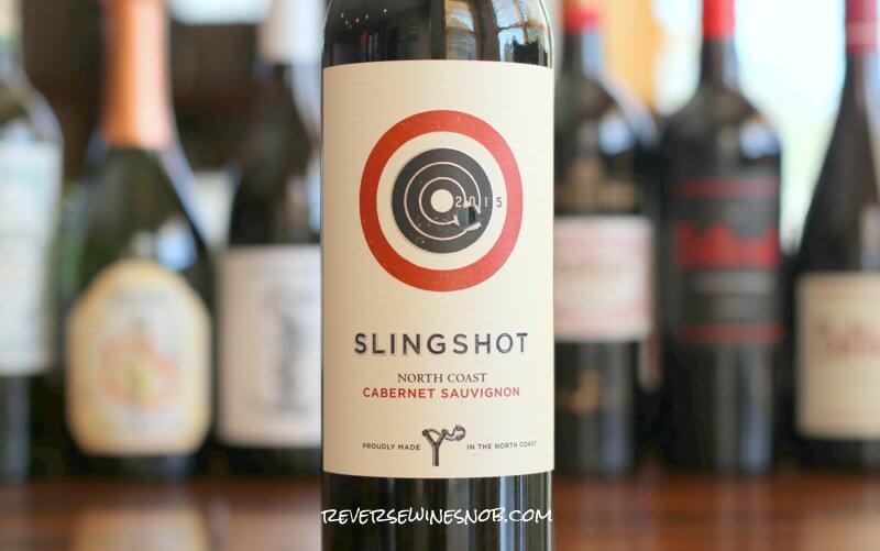 Slingshot North Coast Cabernet Sauvignon - Bullseye!