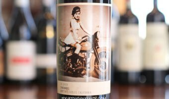 Four Vines The Biker Zinfandel - BFFs with BBQ Sauce