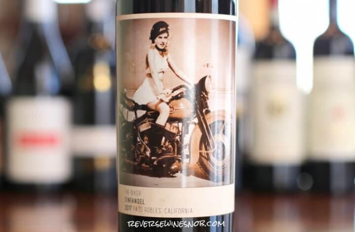 Four Vines The Biker Zinfandel - BFFs with BBQ Sauce