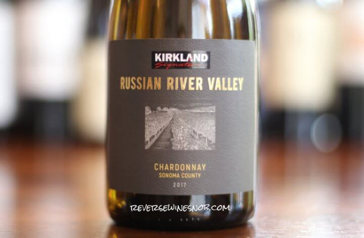 Kirkland Signature Russian River Valley Chardonnay - Juicy