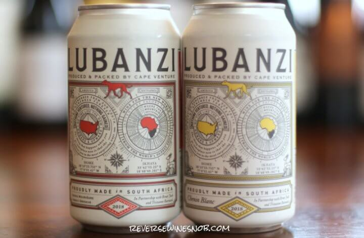 Lubanzi Wine in a Can – Terrifically Tasty