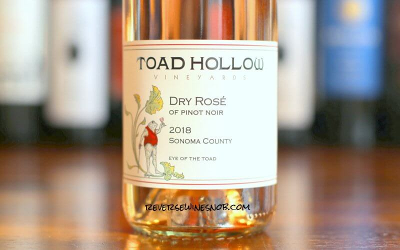 Toad Hollow Dry Rosé of Pinot Noir - Delightfully Fresh and Delicious