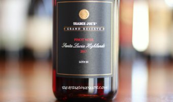 Trader Joe's Grand Reserve Santa Lucia Highlands Pinot Noir – First-Class