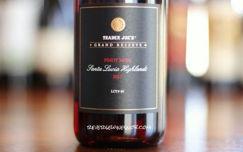 Trader Joe's Grand Reserve Santa Lucia Highlands Pinot Noir – First-Class