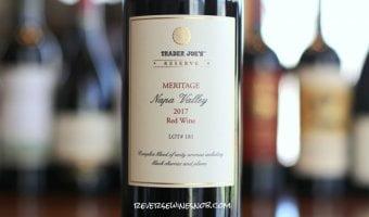 Trader Joe's Reserve Meritage Napa Valley - A Napa Bargain