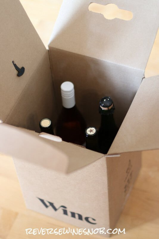 Unboxing the wines of Winc