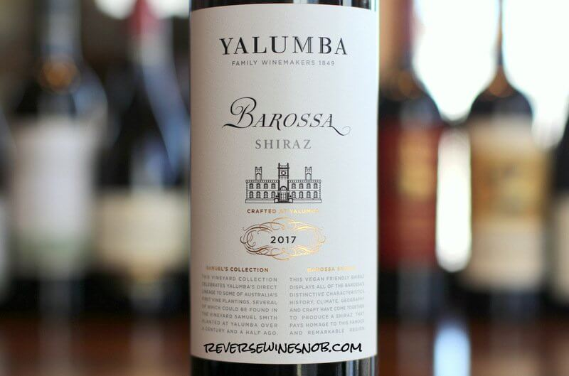 Yalumba Samuel's Collection Barossa Shiraz – Like A Boss