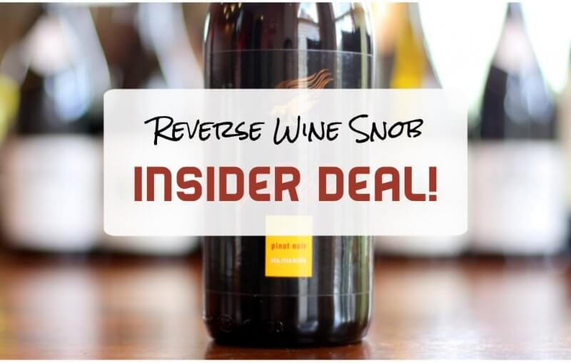 Amazing Sta. Rita Hills Pinot Noir for 45% Off - Insider Deal!