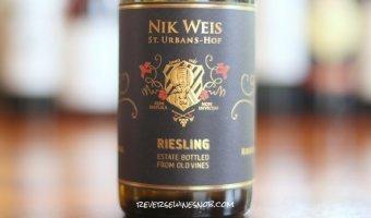 Nik Weis St Urbans Hof Estate Riesling - Scrumptious Stuff