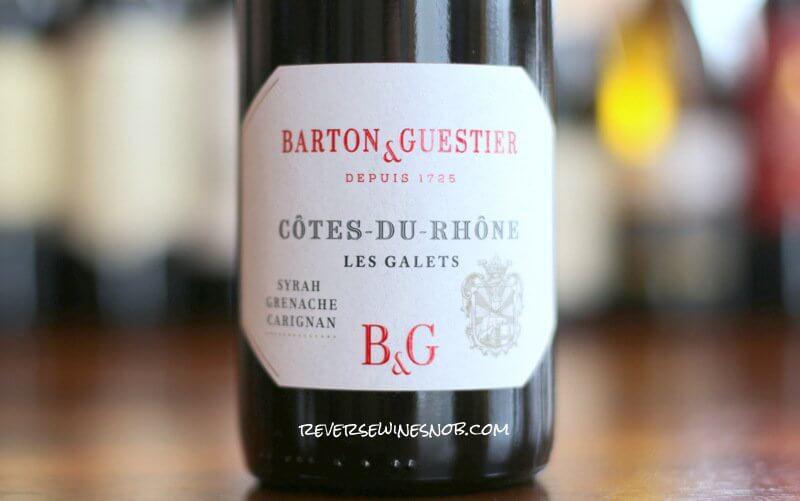 Barton & Guestier Cotes du Rhone – Simply Enjoyable