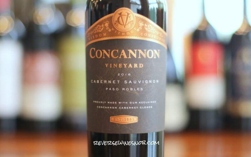 Concannon Paso Robles Cabernet Sauvignon – Well Done