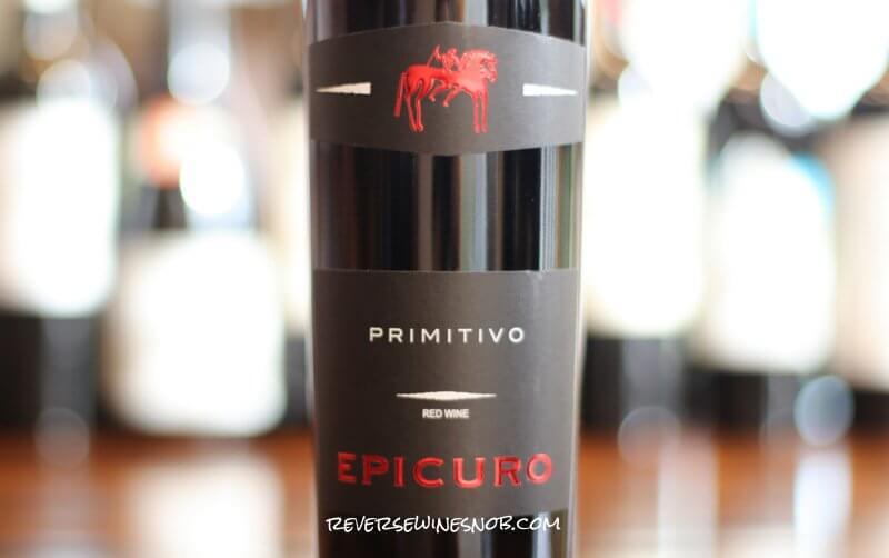 Epicuro Primitivo di Manduria - Cheap and Tasty