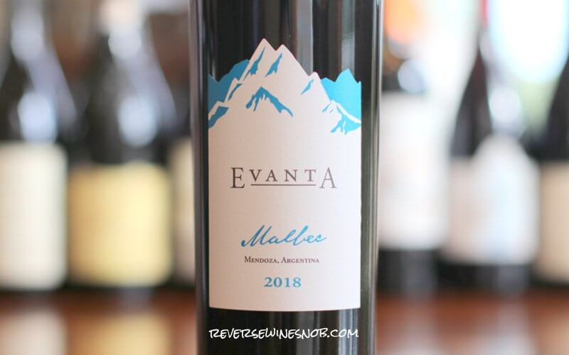 Evanta Malbec – Unobjectionable