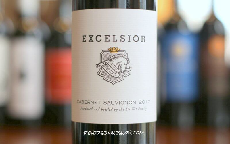 Excelsior Cabernet Sauvignon - Thoroughly Enjoyable