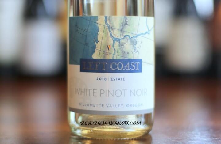 Left Coast Cellars White Pinot Noir - Unbelievably Tasty