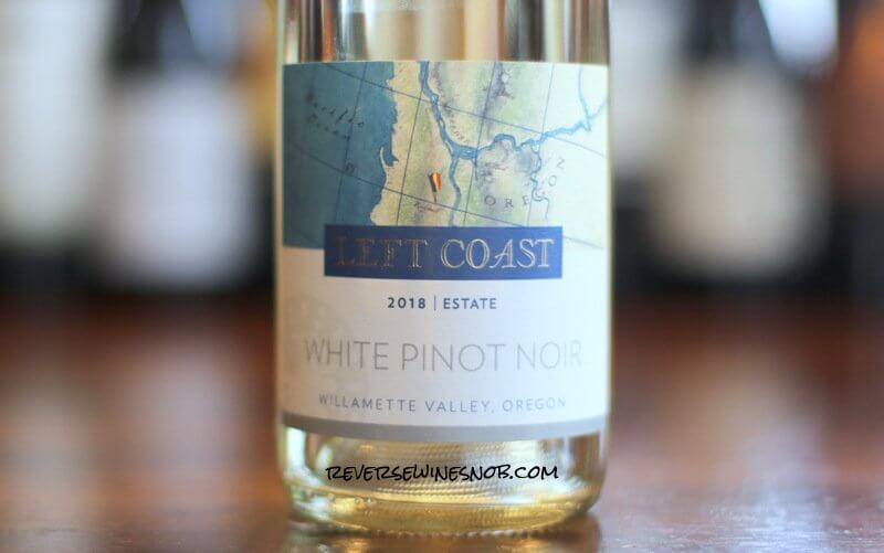 Left Coast Cellars White Pinot Noir - Unbelievably Tasty