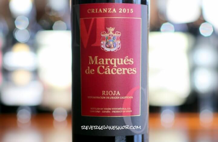 Marques de Caceres Crianza - More Classic Rioja