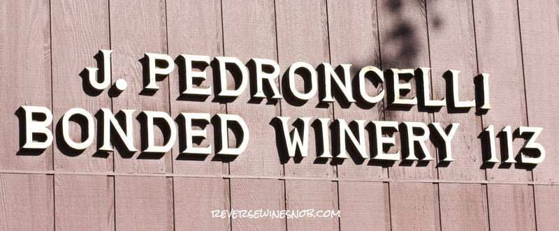 One of the original Dry Creek Valley wineries.