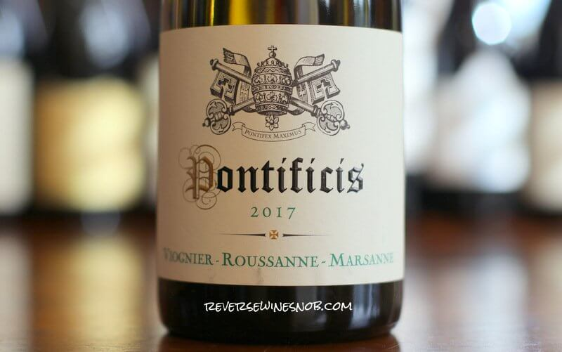 Pontificis Viognier Roussanne Marsanne - Simple and Good