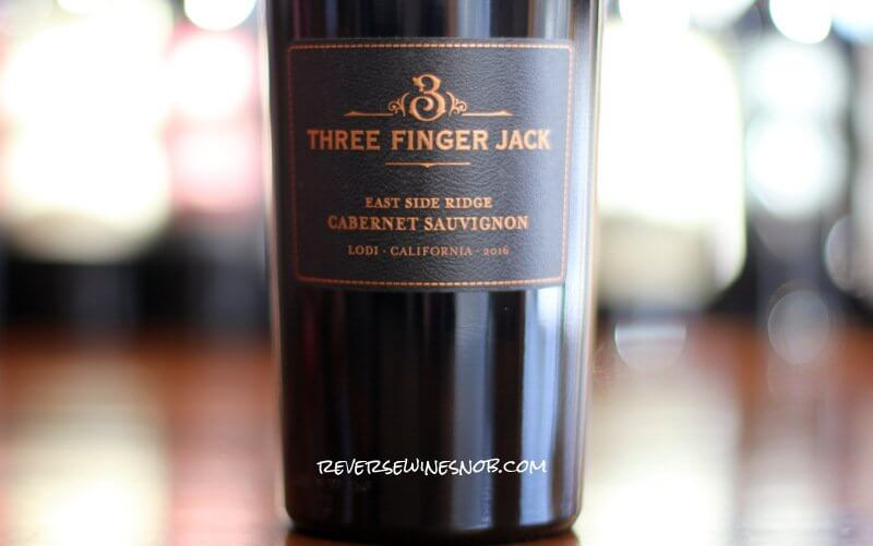 Three Finger Jack East Side Ridge Cabernet Sauvignon – Pay Dirt
