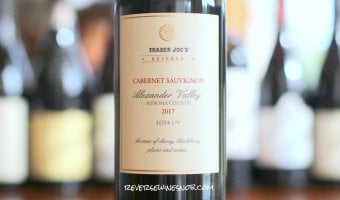 Trader Joe's Reserve Alexander Valley Cabernet Sauvignon Lot 179 - Plummy!