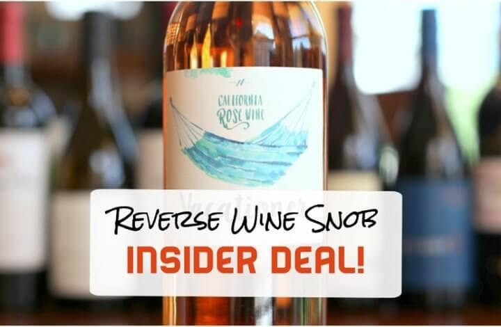 INSIDER DEAL! Vacationer Rosé - R & R in a Bottle