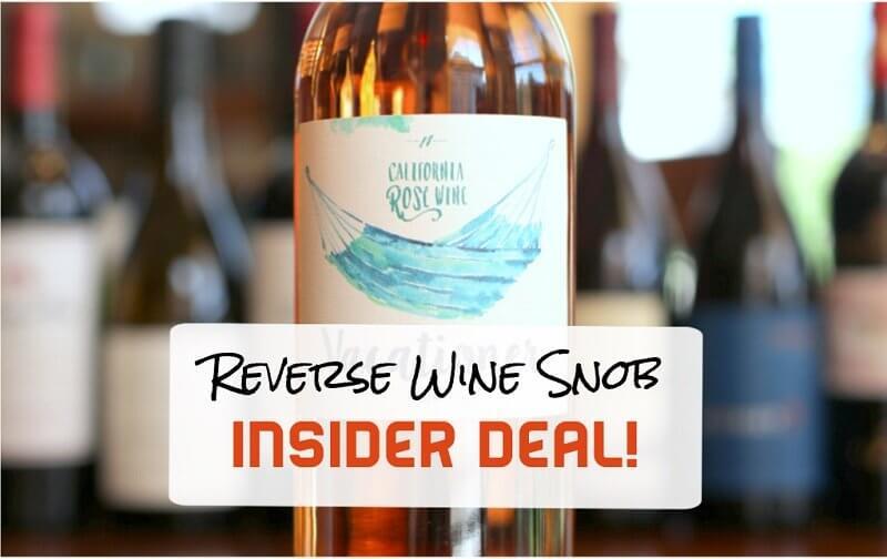 INSIDER DEAL! Vacationer Rosé - R&R in a Bottle