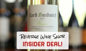 Insider Deal! Lord Sandwich Blanc – A Goldendoodle, Socks and Great Wine