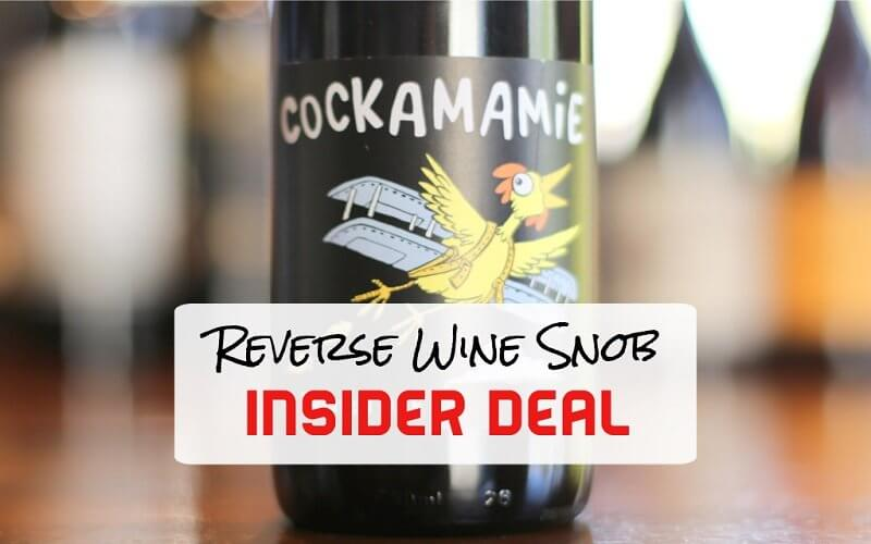 Insider Deal Cockamamie Red Blend By Twisted Oak
