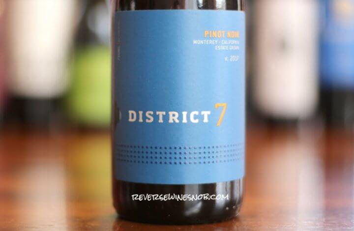District 7 Pinot Noir – Tasty Territory