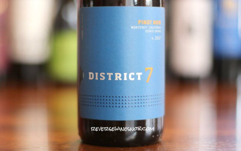District 7 Pinot Noir – Tasty Territory