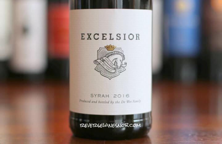 Excelsior Syrah - So Nice