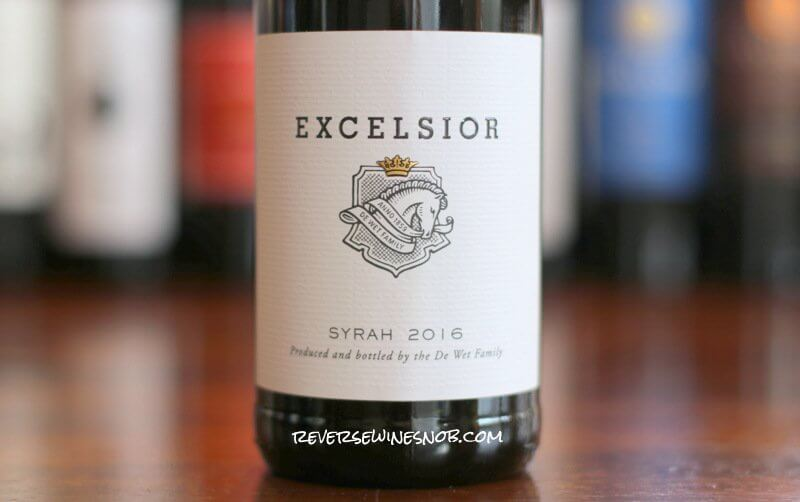 Excelsior Syrah - So Nice
