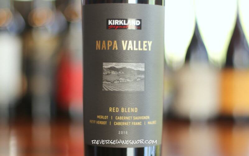 Kirkland Signature Napa Valley Red Blend - It's Good