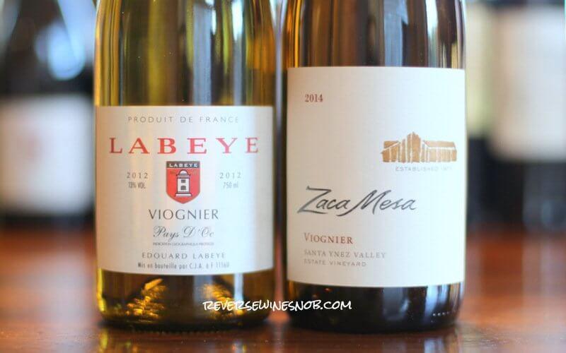 Labeye vs Zaca Mesa Viognier - Old World vs New World