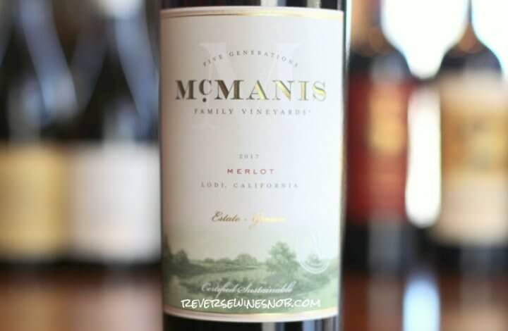 McManis Merlot - Highly Likeable